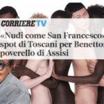 Benetton e Oliviero Toscani: la pubblicità che snatura San Francesco d'Assisi