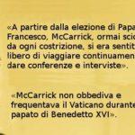 L'ex nunzio Viganò ha mentito nell'accusa al Papa: ora riappare e lo ammette