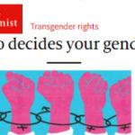 L'Economist (pro-Obama) appoggia Trump: no auto-identificazione dei trans