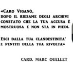 Accuse di Viganò al Papa, il ratzingeriano Ouellet le smonta: «false e blasfeme»