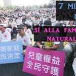 Hong Kong e Taiwan difendono il matrimonio: oltre 7 milioni contro le nozze gay