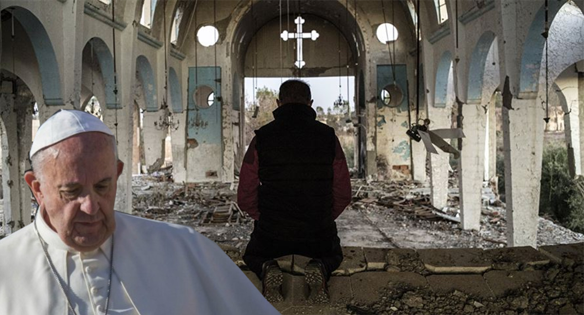 bergoglio silenzio cristiani perseguitati