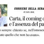 Il coming out di Marco Carta ed il padre assente: e se la psicoanalisi avesse ragione?