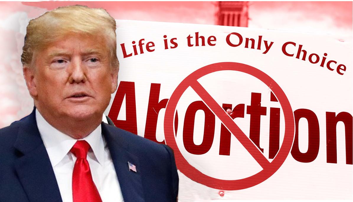 donald trump aborto