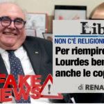 Le bugie di Renato Farina su Lourdes e i problemi di Libero