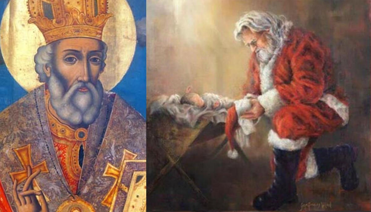 Babbo Natale E San Nicola.Il Vero Babbo Natale Oggi Avrebbe Celebrato La Nascita Di
